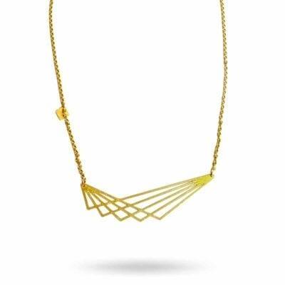 Pendulum – Wing halsband, guld