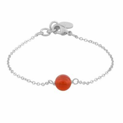 Snö of Sweden – Planet Chain armband, röd