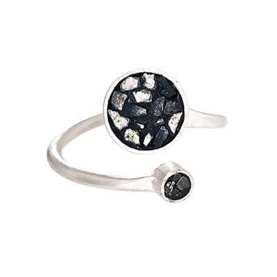 Baumgarten Di Marco – Twin Circle ring, silver