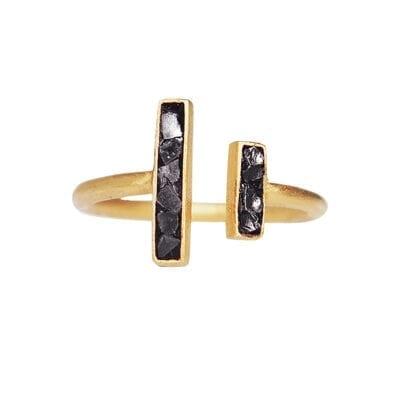 Baumgarten Di Marco – Oblong ring, guld