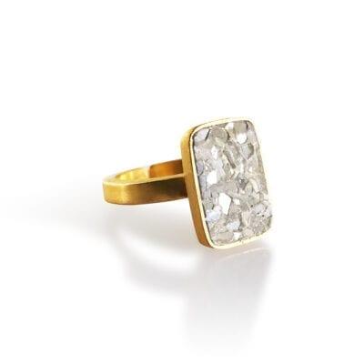 Baumgarten Di Marco – Plate ring, guld