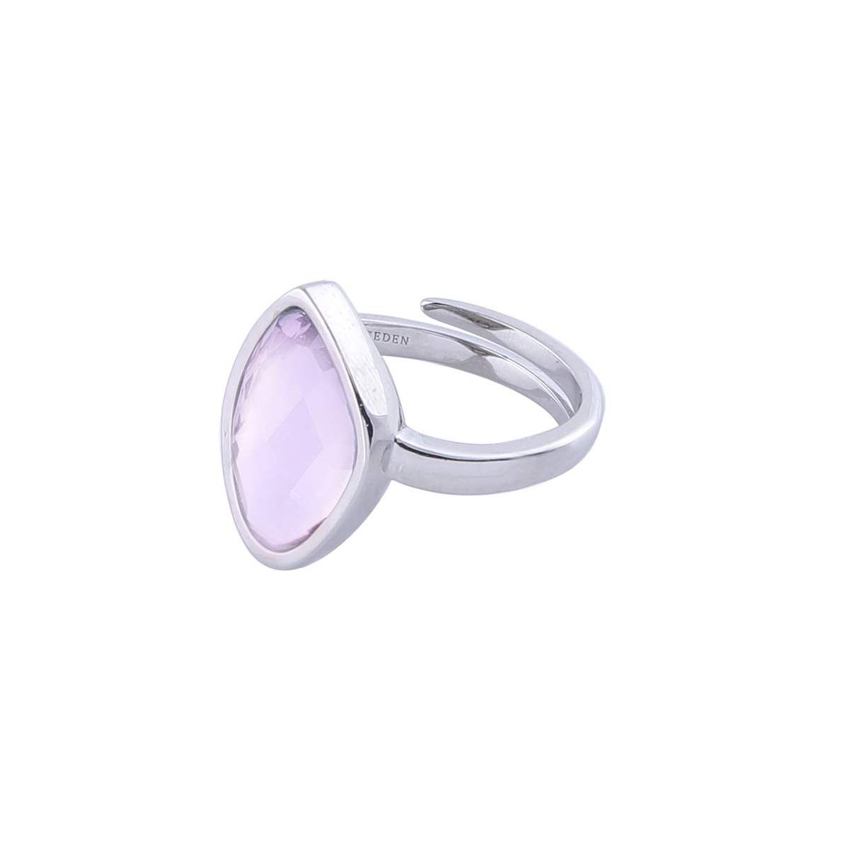 Ring-silver-pink