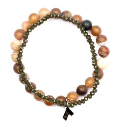 Seven/East – Chaturanga Armband, Brunt