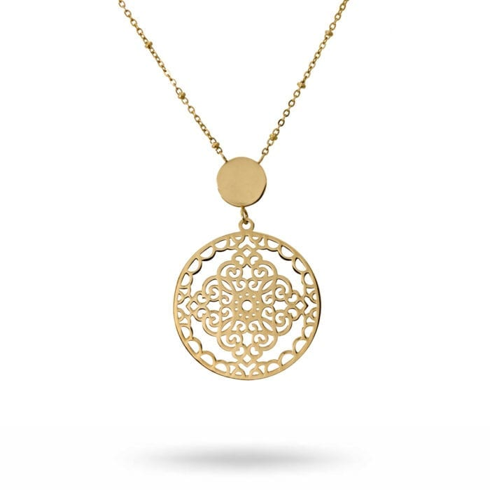 Steffi-necklace-gold