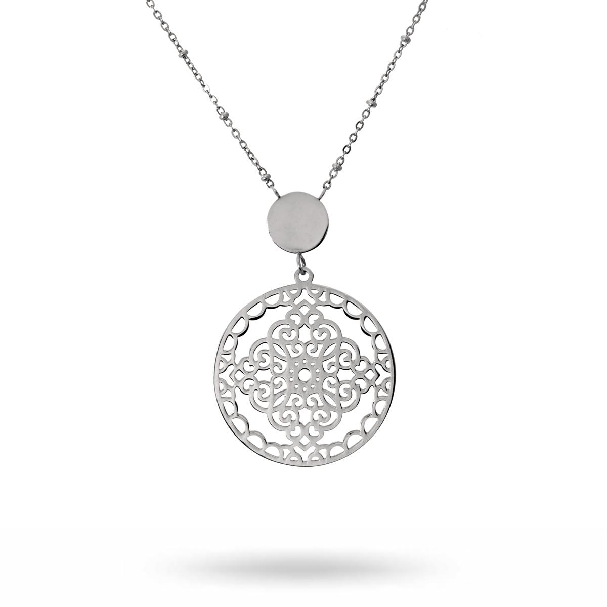 Steffi-necklace-steel