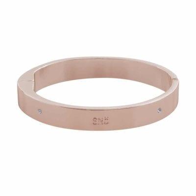 Snö of Sweden – Time oval armband, rosé
