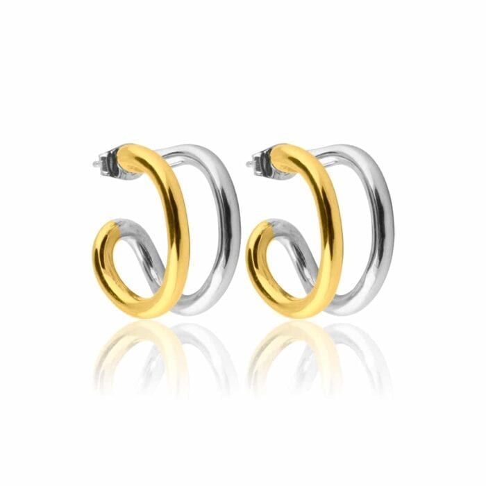 Two-tone-hoops-small_gold-plated-and-rhodiumplated-silver_1890sek