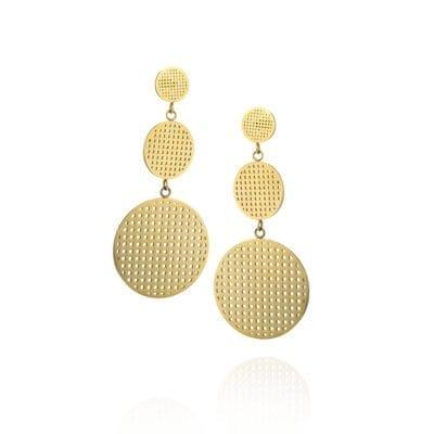 Ingnell Jewellery – Harper Double örhängen, guld