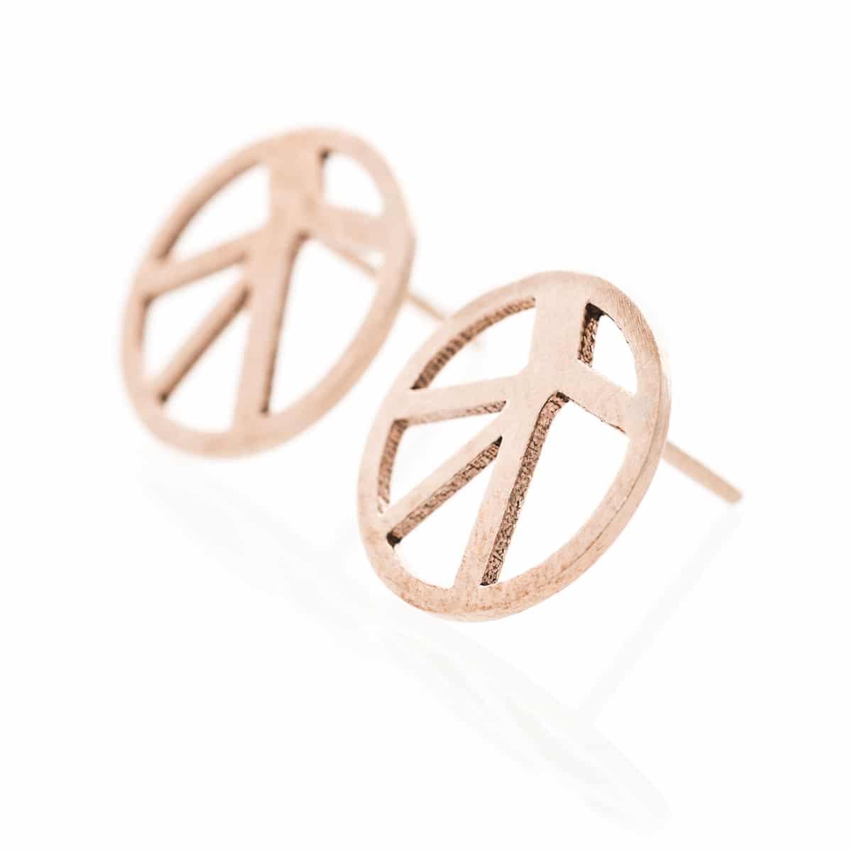 Voronoii-earrings-raw-bronze-1