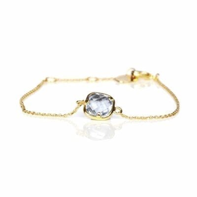Star of Sweden – Carry Yourself – One Piece armband, guld/blått