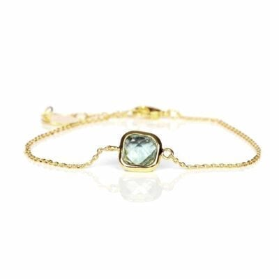 Star of Sweden – Carry Yourself – One Piece armband, guld/grönt
