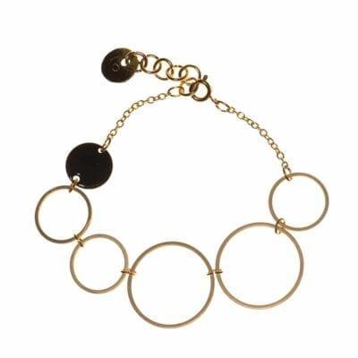 Eclipse armband, guld