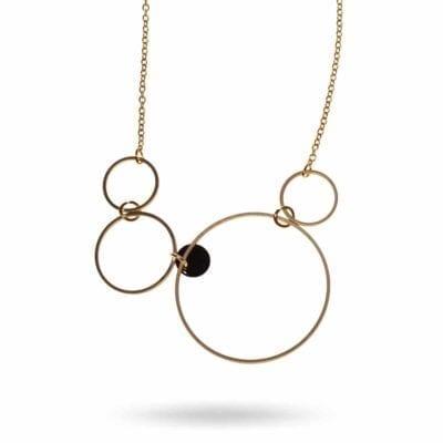 Eclipse halsband, guld