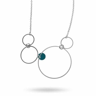 Pendulum – Eclipse halsband, silver