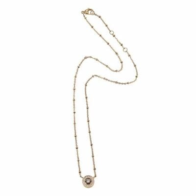 Ingnell Jewellery – Estelle halsband, guld