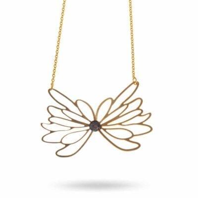 Pendulum – Flower Halsband, guld