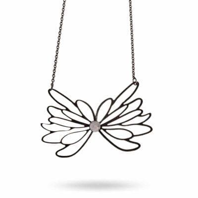Pendulum – Flower Halsband, oxid