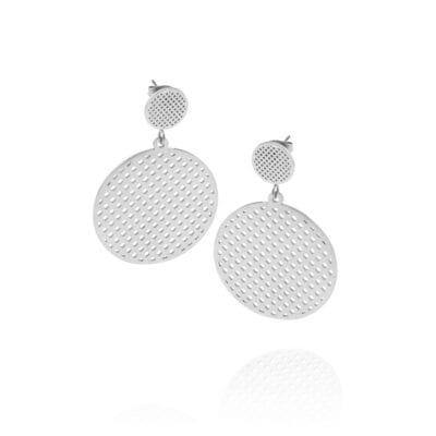 Ingnell Jewellery – Harper örhängen, stål