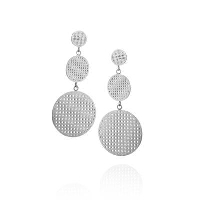 Ingnell Jewellery – Harper Double örhängen, stål