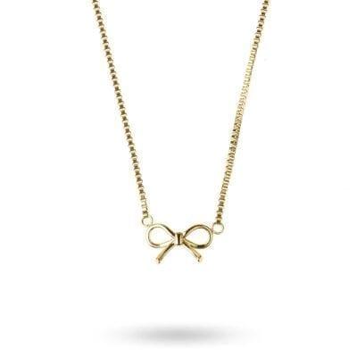 Ingnell Jewellery – Molly mini halsband, guld