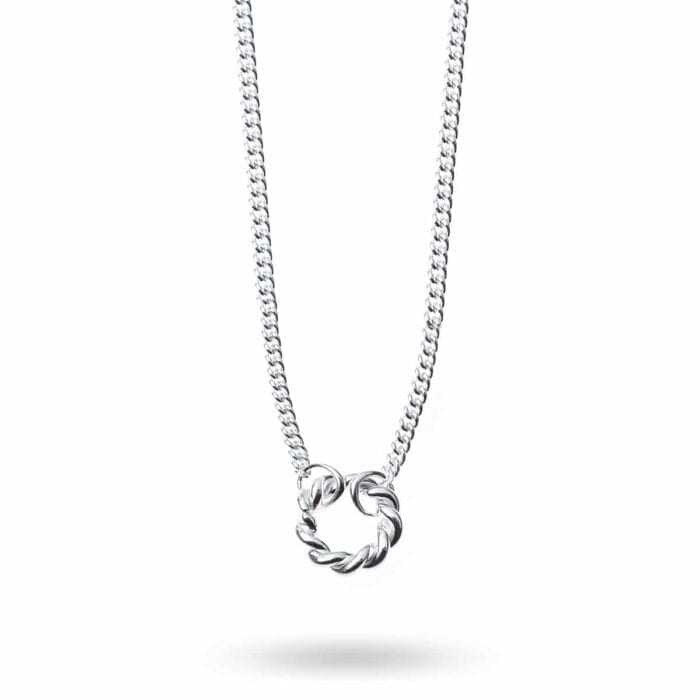 isabel-lennse-twisted-circle-halsband-silver-1