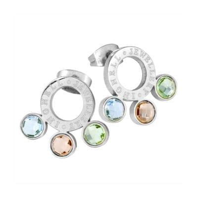 Ingnell Jewellery – Mikaela örhängen, silver