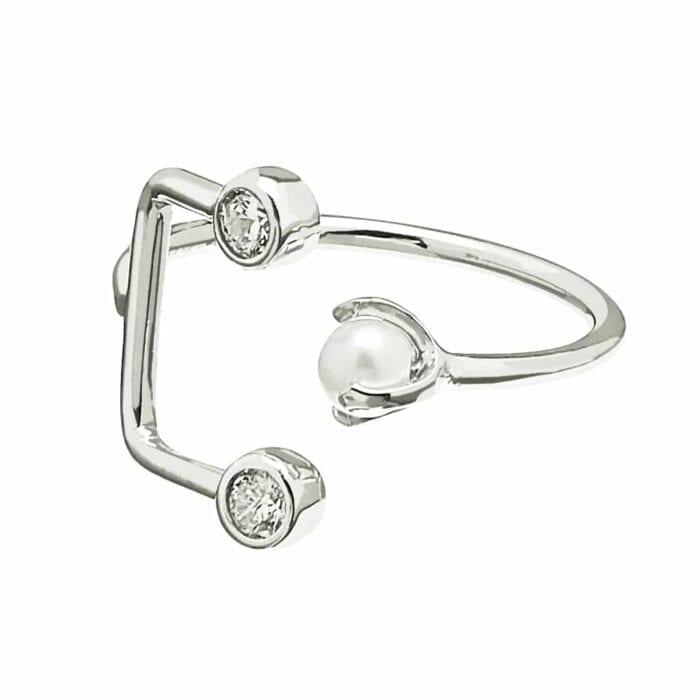 pearlbrilliant-double-ring-1617-silver