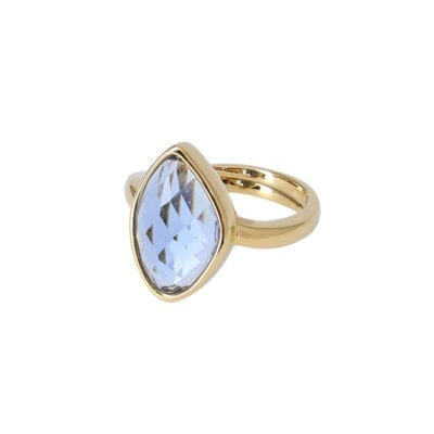 Star of Sweden – Carry Yourself – Snowdrop ring, blå/guld