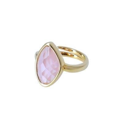 Star of Sweden – Carry Yourself – Snowdrop ring, rosa/guld