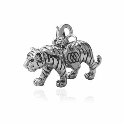 Kokono – Berlock Tiger, silver
