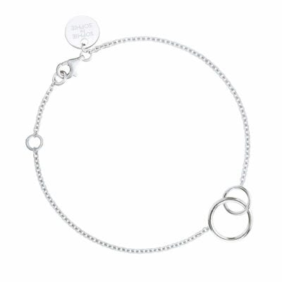 Sophie by Sophie – Mini Circle bracelet, silver