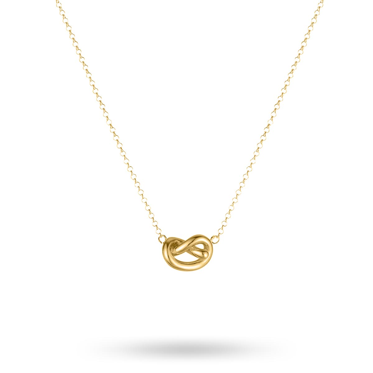 Sophie by Sophie – Knot halsband, guld