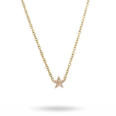 Ingnell Jewellery – Stella halsband, guld