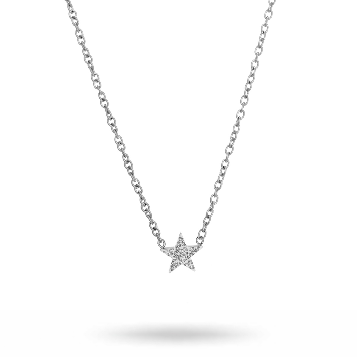 star-necklace-steel