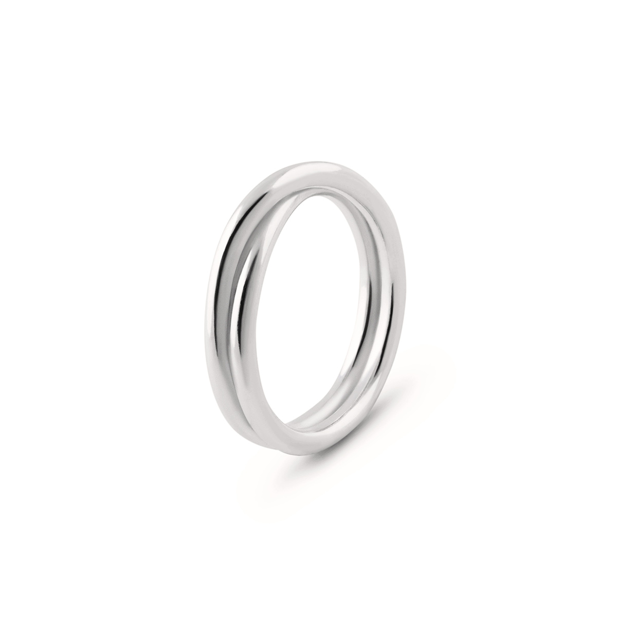 Isabel Lennse – Over Silver Ring, 3 mm