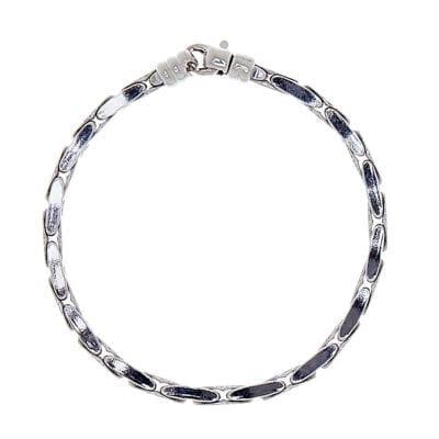CU Man – Bear Snake armband, silver