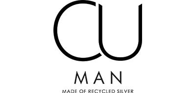CU Man – Bear Bicycle armband, silver