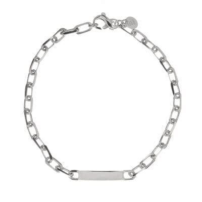 CU Man – Bear Trace armband, silver