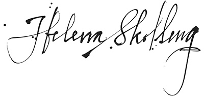Helena Skolling – Creola Örhängen, silver