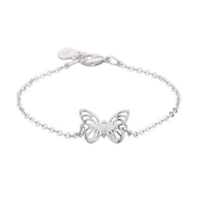 Snö of Sweden – Mirabelle pendant halsband, silver