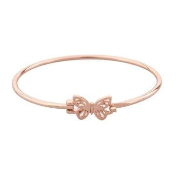Snö of Sweden – Mirabelle oval armband, rosé