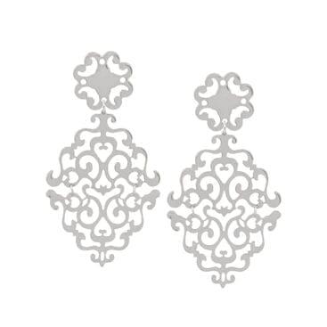 Snö of Sweden – Rimii pendant Långt Halsband, Silver