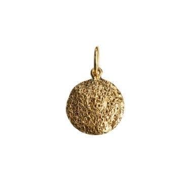Kumkum – Coral Plain berlock, guld