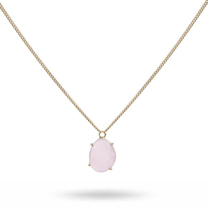 k.halsband-guld-rosa