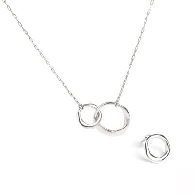 Cornelia Webb – Distorted Chain Set, silver