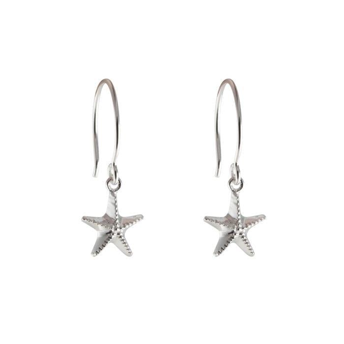 ES1114-1-Beaches-Starfish-earrings-silver