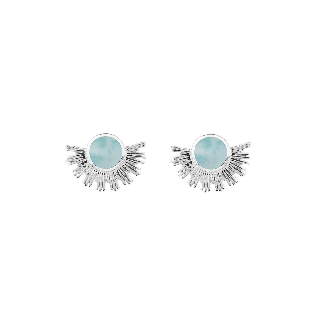 ES1144LA-1-Sunburst-earrings-silver-larimar