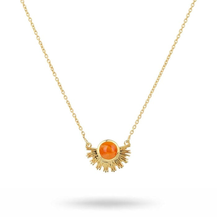 NG1275CA-1-Sunburst-necklace-gold-carnelian