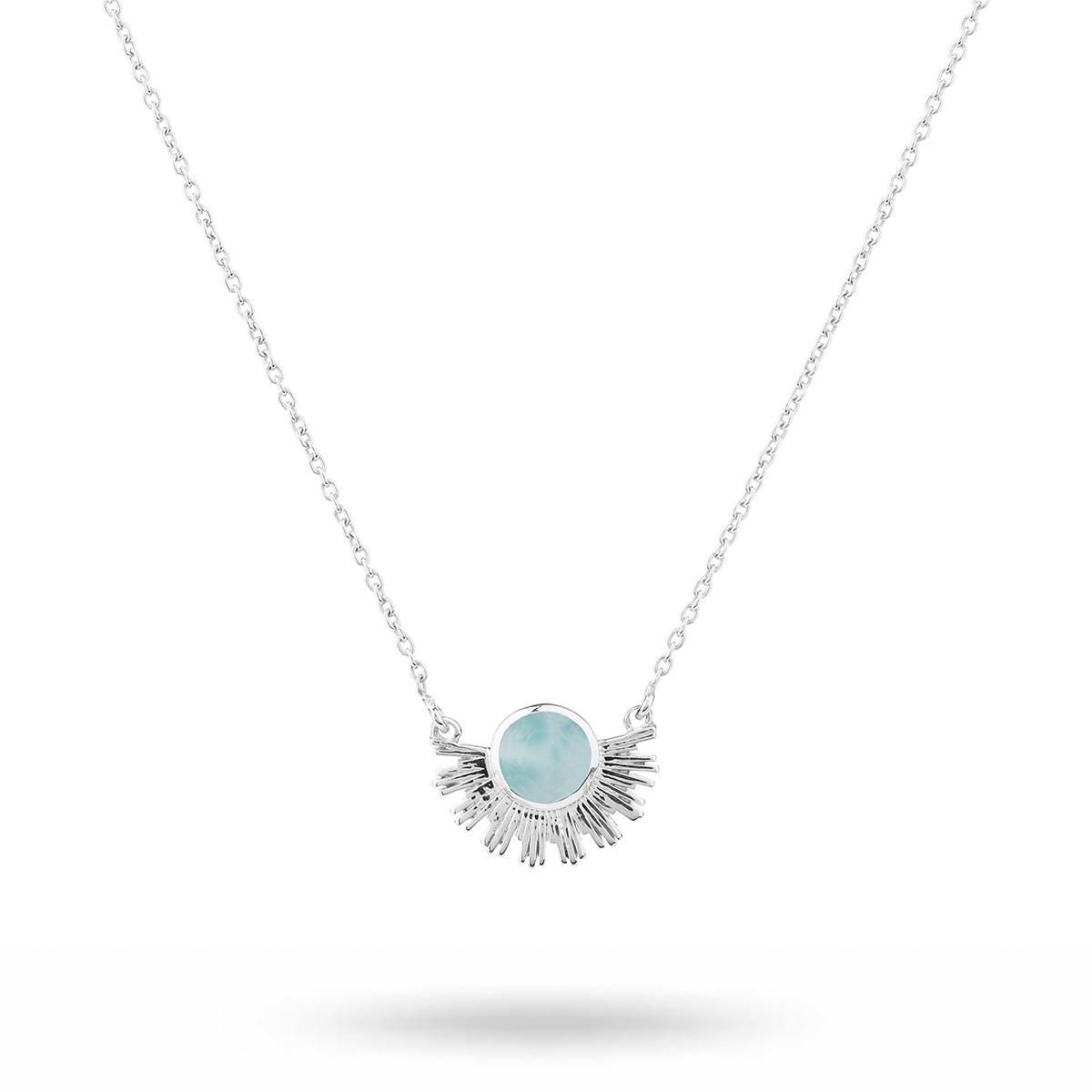 NS1275LA-1-Sunburst-necklace-silver-larimar