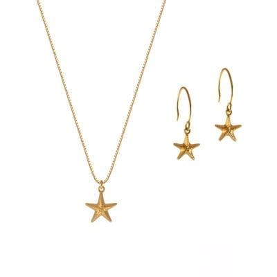 Syster P – Beaches Starfish set, guld